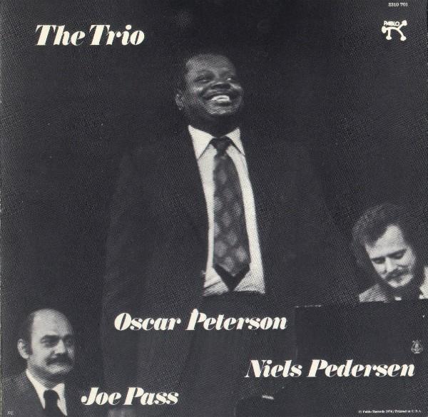 OSCAR PETERSON - The Trio cover